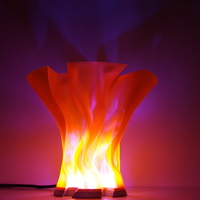 Small Flame Lamp 3D Printing 222042