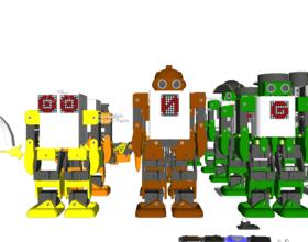 Pin Robonoid – Design concept 3D Printing 222081