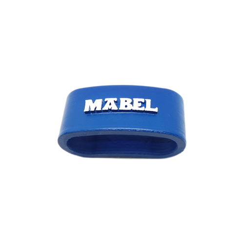 MABEL 3D Napkin Ring with lauburu 3D Print 222289