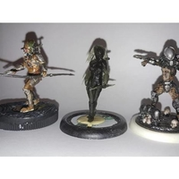 Small Female Hunter 3D Printing 222401