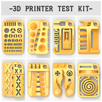 Small 3D Printer Test Kit - by 3DKitbash.com 3D Printing 22244