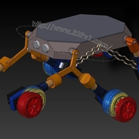 Small Rover5 3D Printing 222512