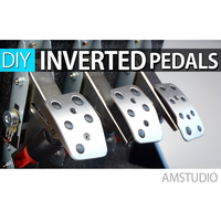 Small Logitech Inverted Pedals Build Guide w Cable holders 3D Printing 222522