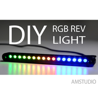 Small RGB REV LIGHT CASE 3D Printing 222525