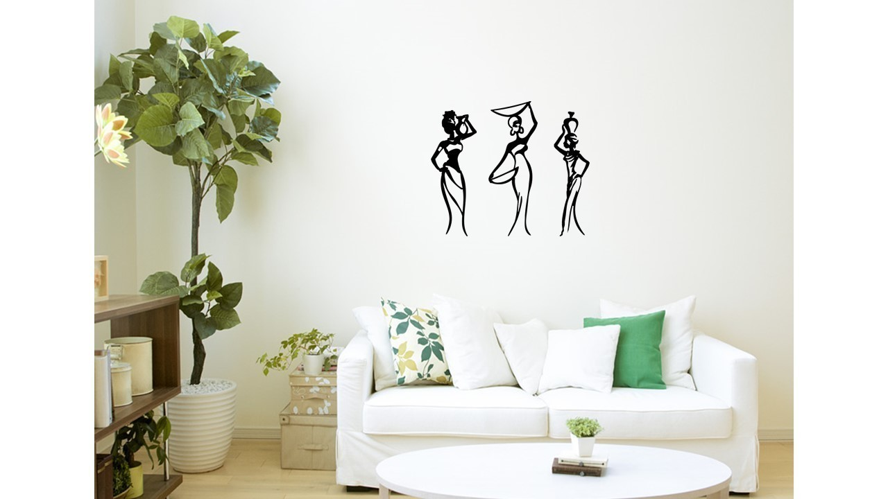 3d printed african women wall art 1 by 3dprintlines pinshape
