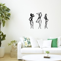 Small African Women wall art_1 3D Printing 222619