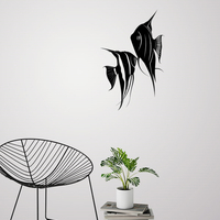 Small ANGEL FISH WALL ART \ DECOR 3D Printing 222623