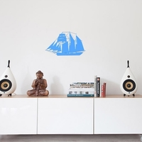 Small SAILING BOAT FOR WALL DECORATION_1 3D Printing 222624