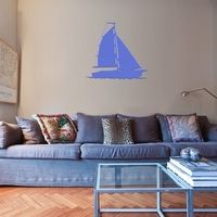 Small SAILING BOAT FOR WALL DECORATION_5 3D Printing 222629