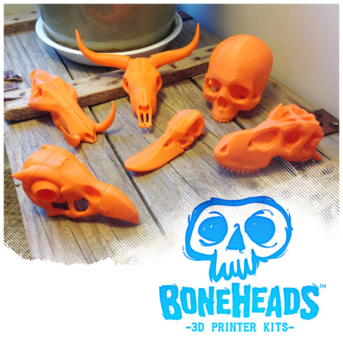 BONEHEADS Set 1 - by 3DKitbash.com 3D Print 22263