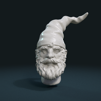 Small Gnome Head 3D Printing 222708