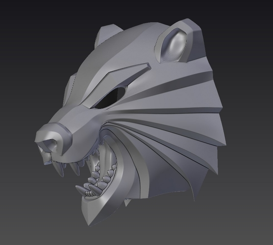 Bear head mask from The Witcher 3 3D Print 222737
