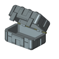 Small Ammo crate 1/10 3D Printing 222811
