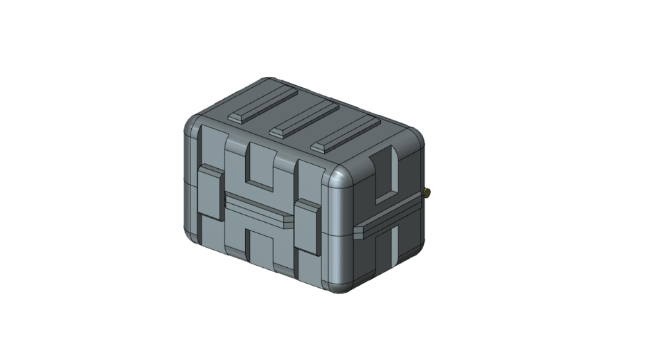 Ammo crate 1/10 3D Print 222812