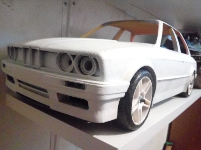 Body scale rc 1 10 car 3D print model 3D Print 222910