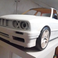 Small Body scale rc 1 10 car 3D print model 3D Printing 222910