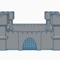 Small castle 3D Printing 223010