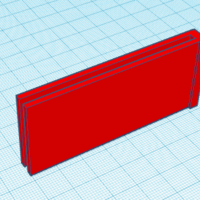 Small (fits in wallet) Money Clip 3D Printing 223038