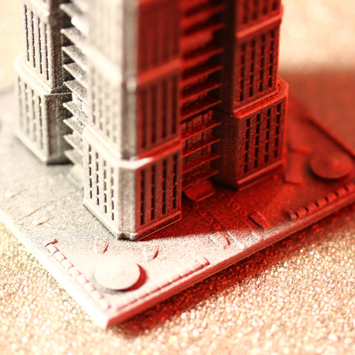 Skyscraper building for game like Monsterpocalypse 3D Print 223208