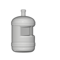 Small water bottle 1/10 3D Printing 223317