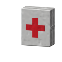 Small first aid box 1/10 3D Printing 223318
