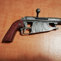 Small Obrez Pistol  (working!!) 3D Printing 223326