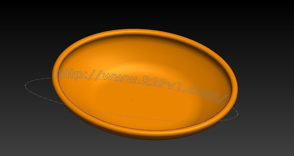 Childs OvalBowl1 3D Print 223352