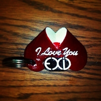 Small EXID I LOVE YOU  3D Printing 223479