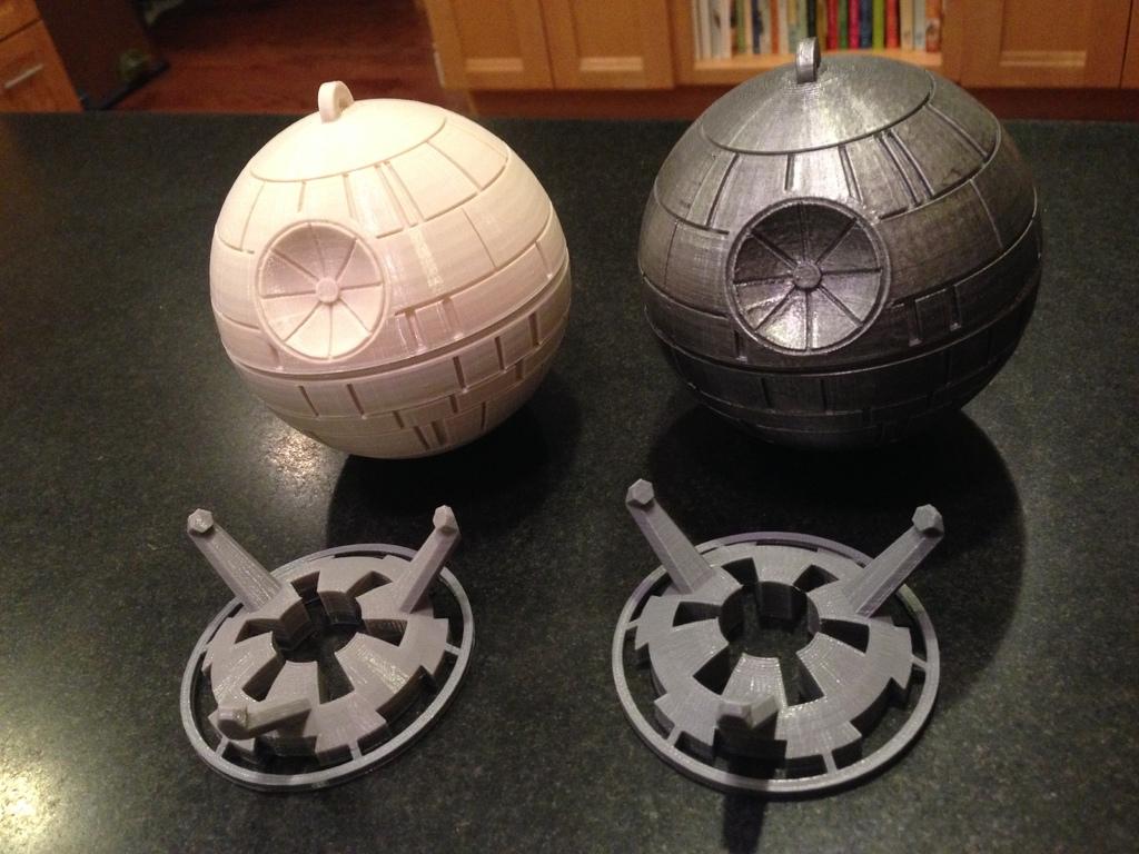 3d printed star wars display stand by chris milnes pinshape