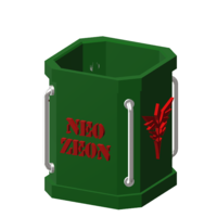 Small pen holder ( zeon ) 3D Printing 223522
