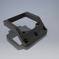 Small Fan Holder for buggy XRAY XB2C 3D Printing 223568