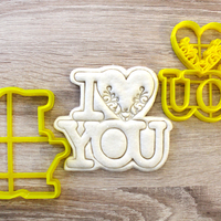 Small  Cookie Cutter Love 3D Printing 223706