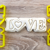 Small  Cookie Cutter Love  3D Printing 223711