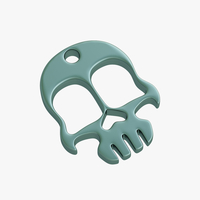 Small Knuckles skull 3D Printing 223717
