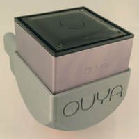 Small OUYA Wall Mount 3D Printing 22378