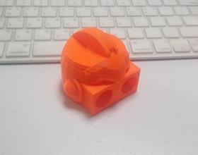 Pin Robonoid – Head (Nova) 3D Printing 223860