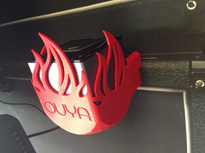 OUYA Mount - Fire Edition! 3D Print 22388