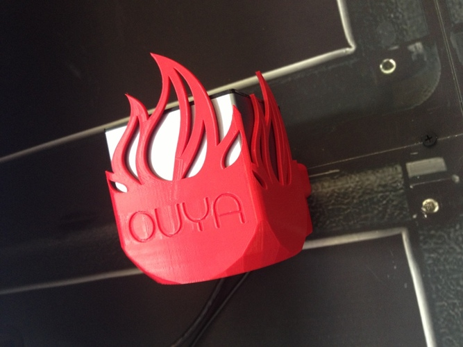 OUYA Mount - Fire Edition! 3D Print 22389