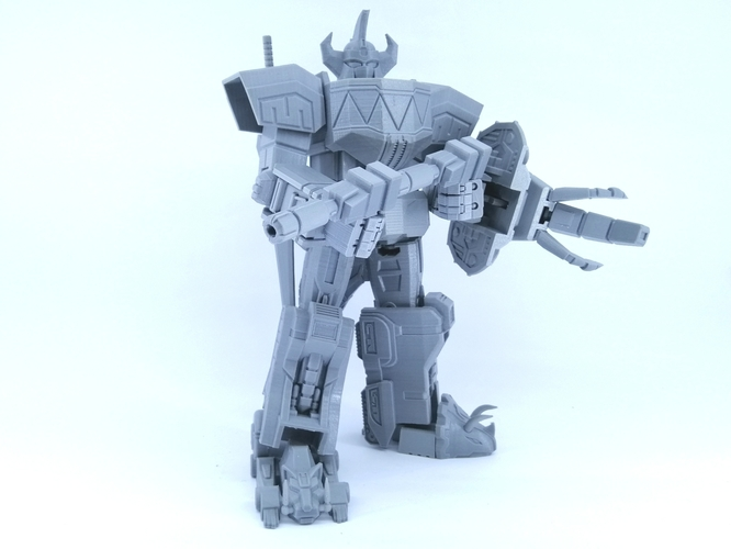 ARTICULATED POWER ROBOT NOT DINO MEGAZORD NO SUPPORT 3D Print 223926