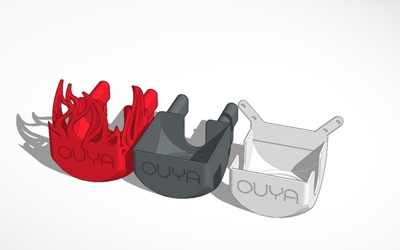 OUYA Mount - Fire Edition! 3D Print 22393