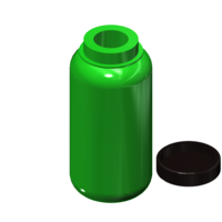 Small 1L Camping Bottle 1/10 3D Printing 223936