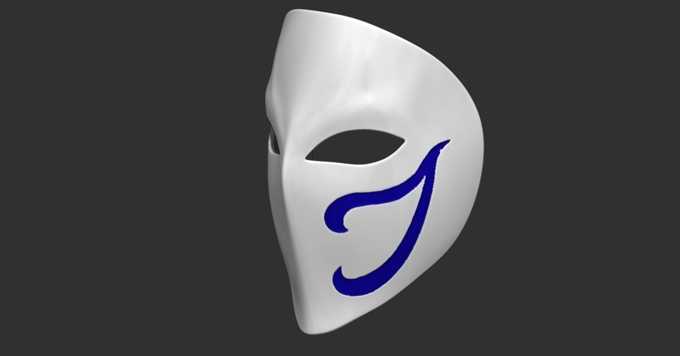 Vega Mask - Street Fighter cosplay 3D Print 223962