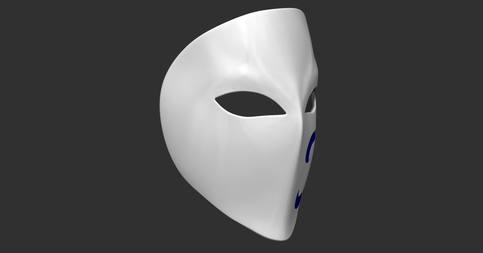 Vega Mask - Street Fighter cosplay 3D Print 223966