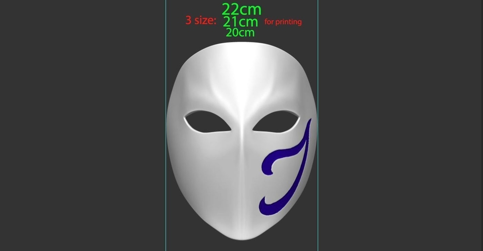 Vega Mask - Street Fighter cosplay 3D Print 223969