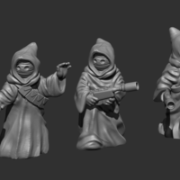 Small desert scrapper bundle 3D Printing 224033
