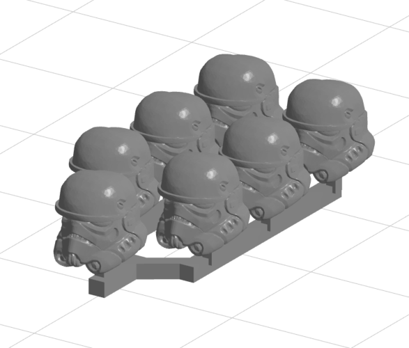Extreme Environment Trooper heads 3D Print 224035