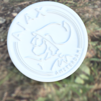 Small Ajax drink-coaster 3D Printing 224203