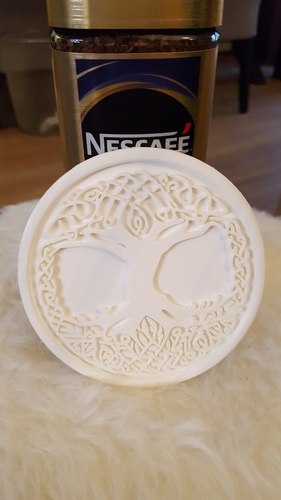 Celtic tree of Life drink-coaster 3D Print 224221