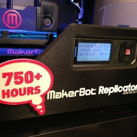 Small Printer Badge (Hours) 3D Printing 22430