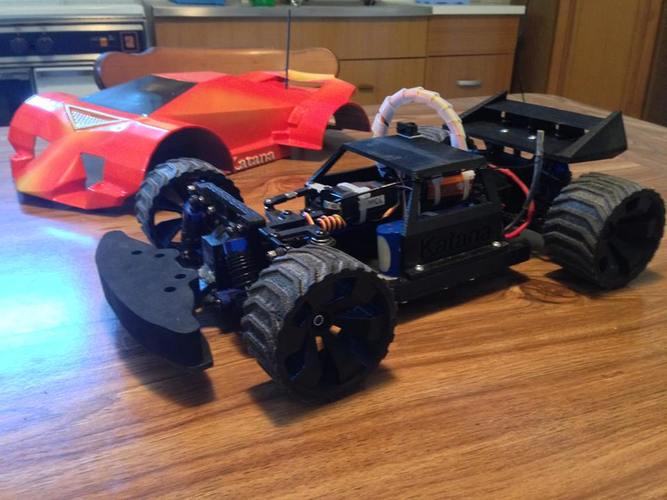 Katana Rc car 1:10 On/Off Road 3D Print 22444